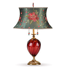 Gladys by Susan Kinzig and Caryn Kinzig (Mixed-Media Table Lamp)