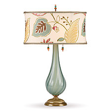 Savannah by Susan Kinzig and Caryn Kinzig (Mixed-Media Table Lamp)