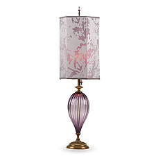 Leah by Susan Kinzig and Caryn Kinzig (Mixed-Media Table Lamp)