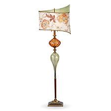 Manuel by Susan Kinzig and Caryn Kinzig (Mixed-Media Floor Lamp)