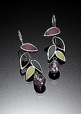 Falling Leaves by Susan Kinzig (Silver Earrings)