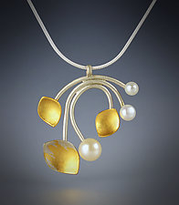 Josephine by Judith Neugebauer (Gold, Silver & Pearl Necklace)