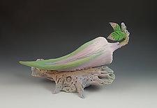 Chrysalis Perfume by Nancy Y. Adams (Ceramic Sculpture)