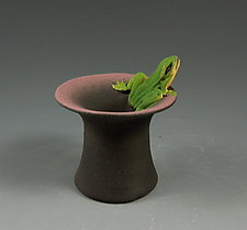 Mini Frog Bowl by Nancy Y. Adams (Ceramic Bowl)