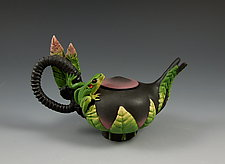 Mini Frog Teapot by Nancy Y. Adams (Ceramic Teapot)