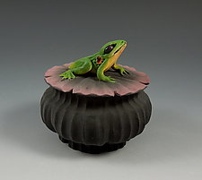 Frog Box by Nancy Y. Adams (Ceramic Box)