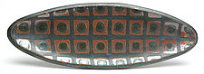 Oval Tray 2 by Peter Karner (Ceramic Tray)
