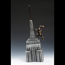 King Kong Coin Bank by Scott Nelles (Metal Sculpture)