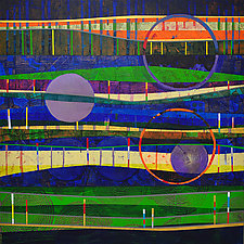 Stratosphere by Chin Yuen (Acrylic Painting)