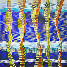 Musical River by Chin Yuen (Acrylic Painting)