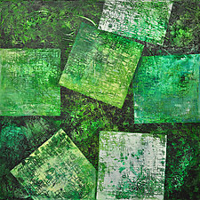Verdant Pages by Chin Yuen (Acrylic Painting)