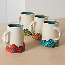 Daydream Mugs by Rachelle Miller (Ceramic Mug)