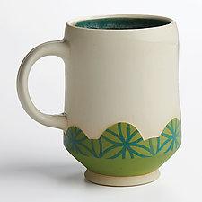 Fresh Footed Mugs by Rachelle Miller (Ceramic Mug)
