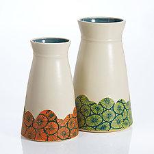 Daydream Vases by Rachelle Miller (Ceramic Vase)