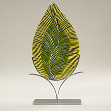 Before the Fall by Caryn Brown (Art Glass Sculpture)