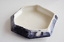 Nebula Stone Bowl by Lauren Herzak-Bauman (Ceramic Bowl)