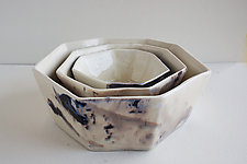 Nebula Formation Bowl by Lauren Herzak-Bauman (Ceramic Bowl)