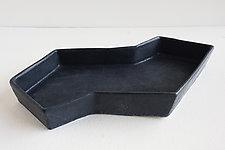 Zigzag Dish by Lauren Herzak-Bauman (Ceramic Tray)
