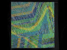Falling Star by Judith Larzelere (Fiber Wall Hanging)