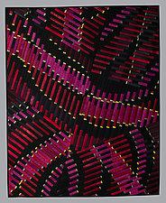 Happy New Year by Judith Larzelere (Fiber Wall Hanging)