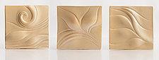 Shore Dune Tile Set by Natalie Blake (Ceramic Sculpture)