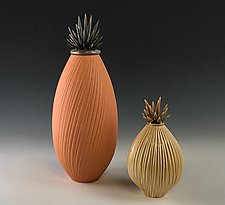 Firelight Ceramic Vessels by Natalie Blake (Ceramic Vessel)