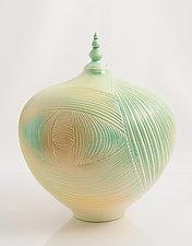 Bird's Eye View of Land by Natalie Blake (Ceramic Sculpture)