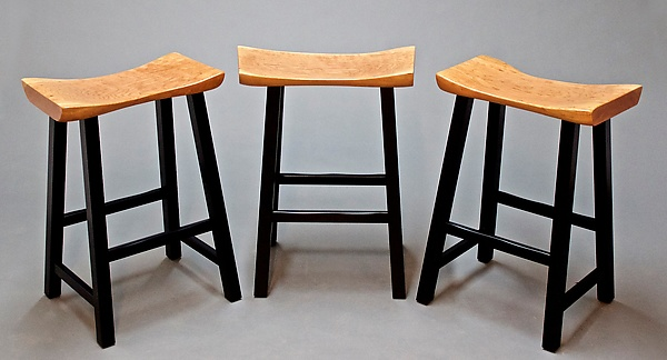 Solid Cherry Bar/Counter Stools