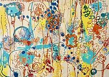 Looking by Sara Galkin (Acrylic & Enamel Painting)