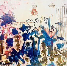 March 2021 by Sara Galkin (Acrylic & Enamel Painting)