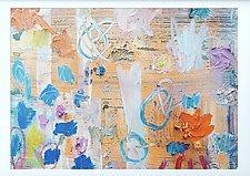 Orange and Purple by Sara Galkin (Oil Painting)