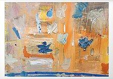 Orange and Blue by Sara Galkin (Oil Painting)