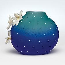 Ocean Cacti by Hannah Nicholson & Alana van Altena (Art Glass Sculpture)