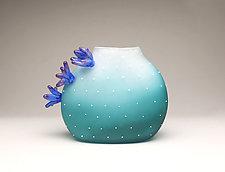 Desert to Sea Cacti by Hannah Nicholson & Alana van Altena (Art Glass Sculpture)