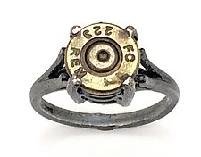 Peace Fire FC 223 Rem by Alexan Cerna and Gina  Tackett (Silver & Brass Ring)