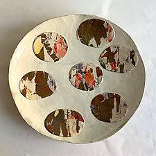 Artschwager Plate by Catherine Satterlee (Ceramic Platter)