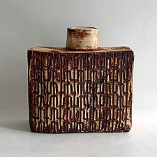 25th Street Bottle by Catherine Satterlee (Ceramic Vase)