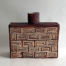 Athena Bottle by Catherine Satterlee (Ceramic Vase)