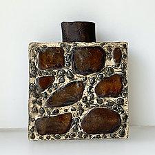 CDMX Bottle by Catherine Satterlee (Ceramic Vase)