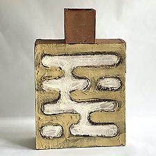 Houston Bottle III by Catherine Satterlee (Ceramic Vase)
