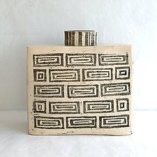 Athena Bottle IV by Catherine Satterlee (Ceramic Vase)