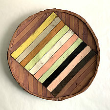 Sotavento III by Catherine Satterlee (Ceramic Platter)