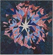 A Star in My Eye by Ann Harwell (Fiber Wall Hanging)