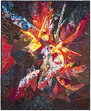 Star Birth by Ann Harwell (Fiber Wall Hanging)