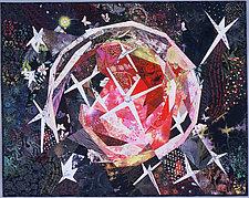 V838 Monocerotis by Ann Harwell (Fiber Wall Hanging)