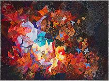 Star Forming Region by Ann Harwell (Fiber Wall Hanging)