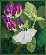 Mothflower by Ann Harwell (Fiber Wall Hanging)