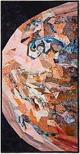 Jupiter by Ann Harwell (Fiber Wall Hanging)
