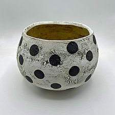 The Dots Have It by Meg Dickerson (Ceramic Bowl)