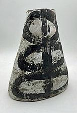 Half and Half by Meg Dickerson (Ceramic Vase)
